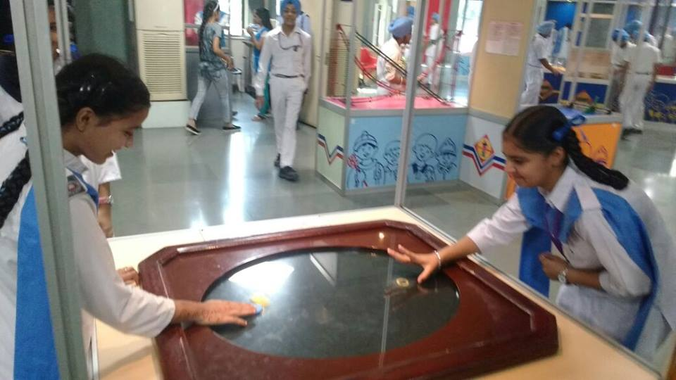 STUDENTS OF CLASS 3 TO 5 WENT TO NATIONAL SCIENCE MUSEUM
