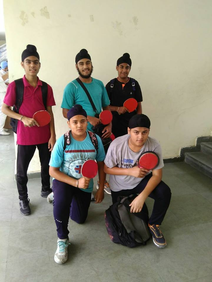OUR SCHOOL TT TEAM HAS WON BRONZE MEDAL IN ZONAL TABLE TENNIS COMPETITION HELD AT NEW ERA PUBLIC SCHOOL