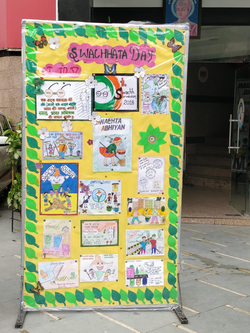 SWACHHATA DAY CELEBRATED BY CLASS 1 TO 5